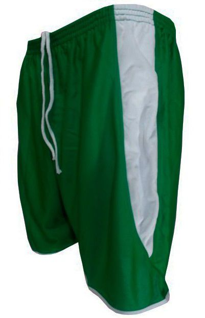 Calção modelo Copa Verde/Branco