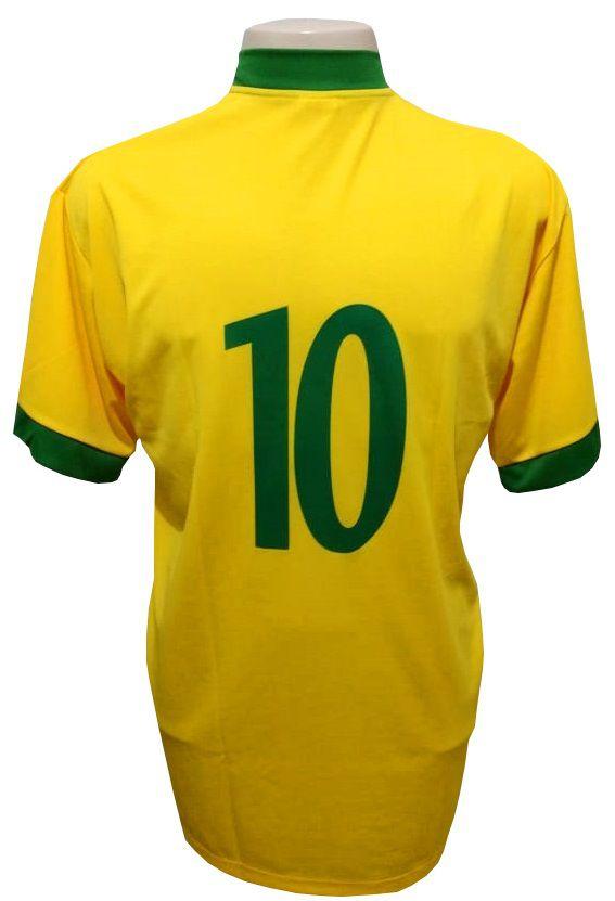 Camisa do Brasil modelo Torcedor - Lambra