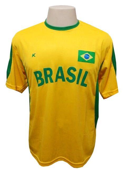 Camisa Torcedor Brasil - Tamanho GG - Kanxa