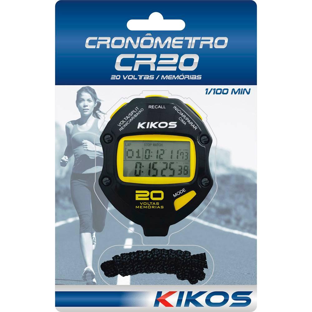 Cronômetro Kikos CR20 - 20 Voltas