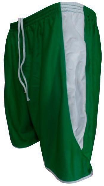 Fardamento Completo modelo Bélgica 20+2 (20 camisas Verde/Branco + 20 calções modelo Copa Verde/Branco + 20 pares de meiões Verde + 2 conjuntos de goleiro) + Brindes