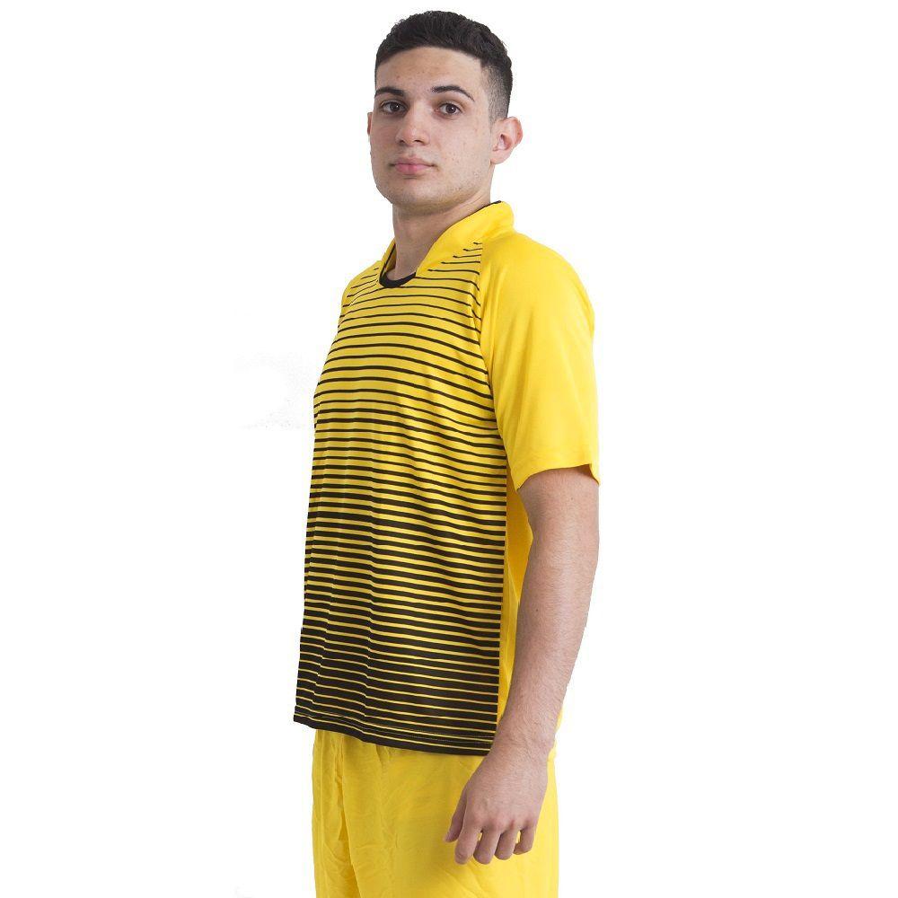 Jogo de Camisa Modelo City 12 Unidades Ref 9049