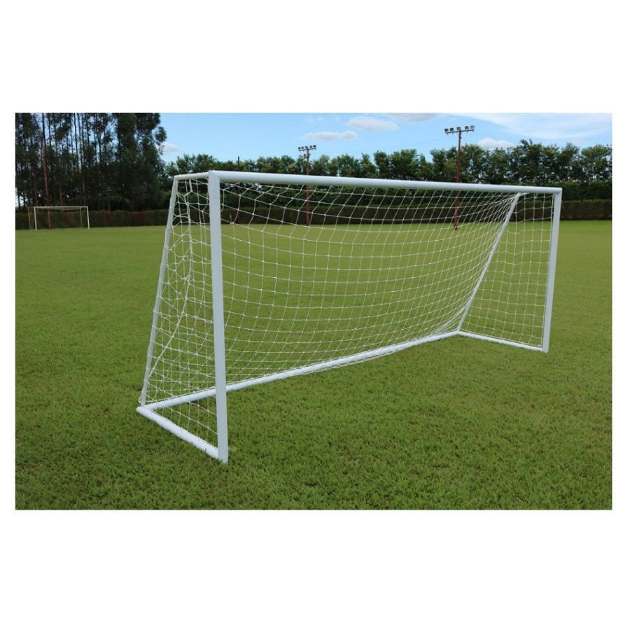 Par de Rede de Futebol de Campo Fio 4 - Matrix