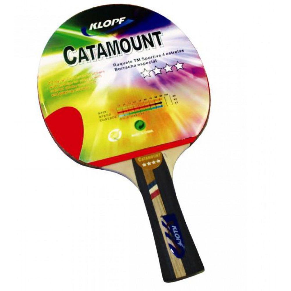 39074c9dc Raquete Tênis de Mesa Catamount - Klopf - Rocha Esportes Uniformes e  Artigos Esportivos ...