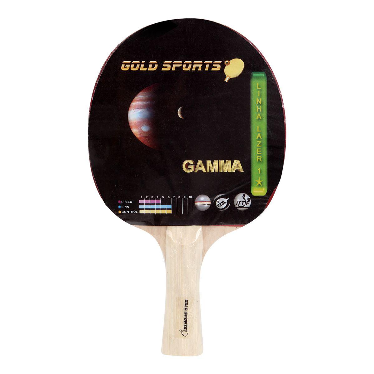 Raquete Tenis De Mesa Gold Sports - Gamma
