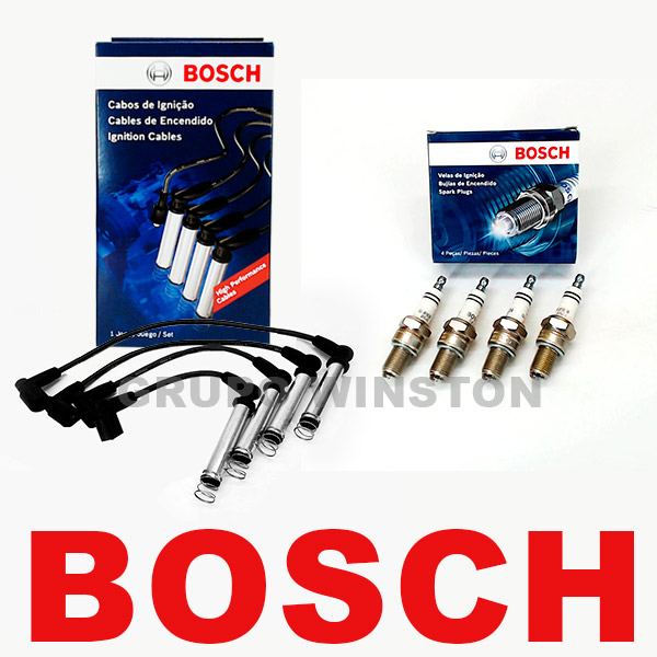 Kit Cabos E Velas Bosch Gm Celta Corsa Cobalt Meriva Spin F00099C012 | F000KE0P43  consulte aplicação