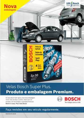 Kit Cabos E Velas Bosch Fox Golf Polo 1.6 Flex Até 2008 F00099C125 | F000KE0P29 consulte aplicação