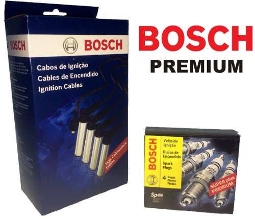 Kit Cabos E Velas Bosch Fox Gol G5 Voyage 1.0 8v Totalflex F00099C624 | F000KE0P33 consulte aplicação