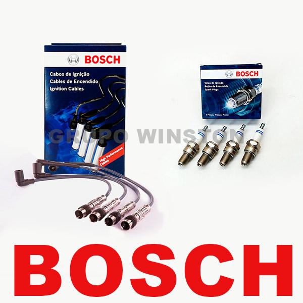Kit Cabos E Velas Bosch Onix 1.0 Prisma 1.0 2013 em diante F00099C612 | F000KE0P32 consulte aplicação