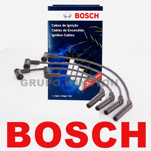 Cabos Bosch Ford Zetec Rocam 8v Fiesta Focus Ka F00099C076 consulte aplicação