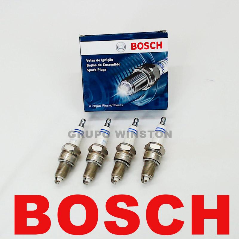 Velas Bosch Astra Vectra Zafira 2.0 Até 09 Flex F000KE0P43 consulte a aplicação