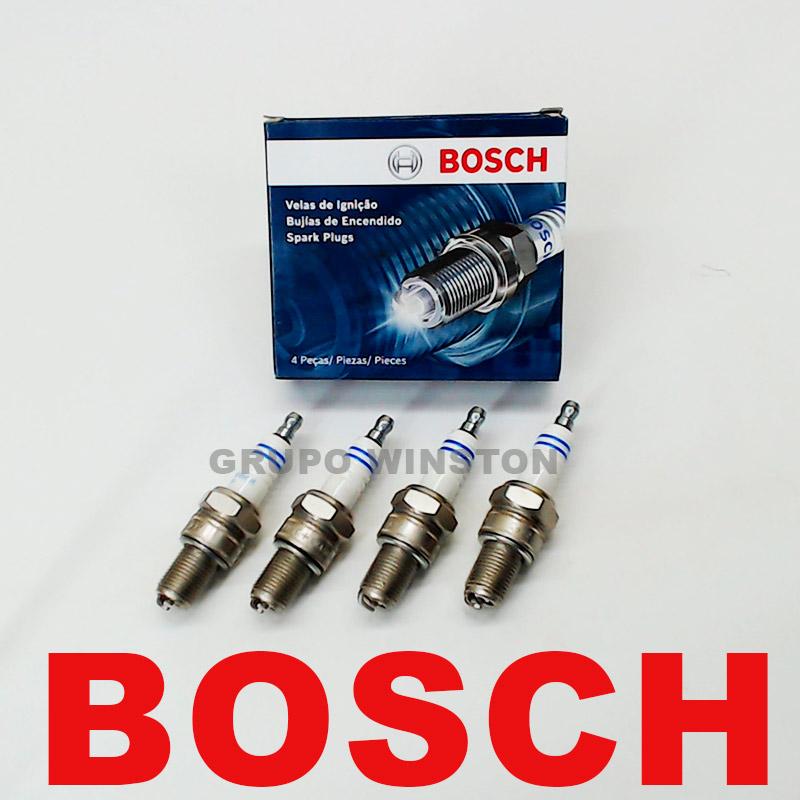 Velas Bosch Celta Corsa Classic Prisma S10 Flex F000KE0P32 consulte a aplicação