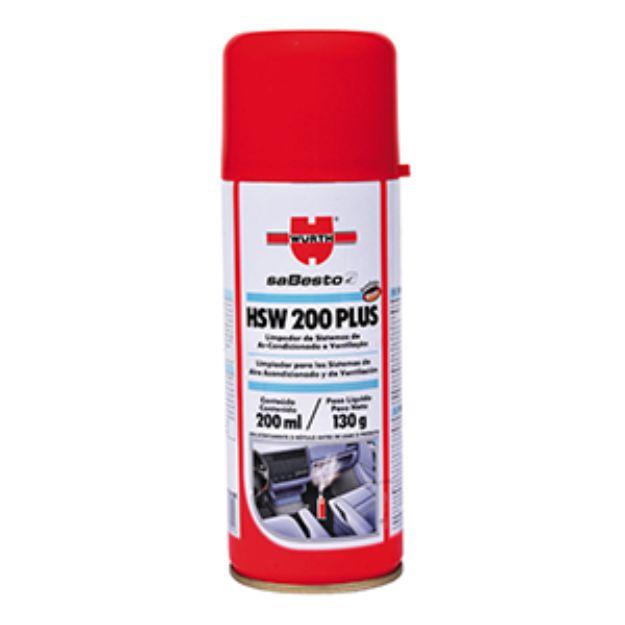 LIMPA AR CONDICIONADO HIGIENIZADOR GRANADA HSW 200 PLUS WURTH ORIGINAL
