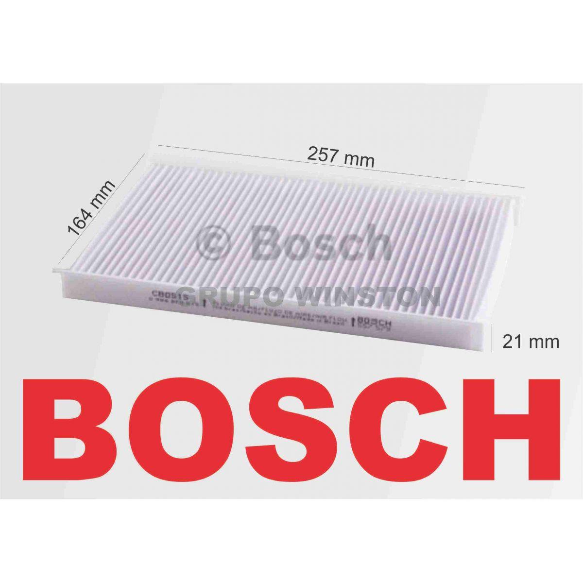 Filtro Ar Condicionado Bosch Fiat Idea Palio Siena Strada