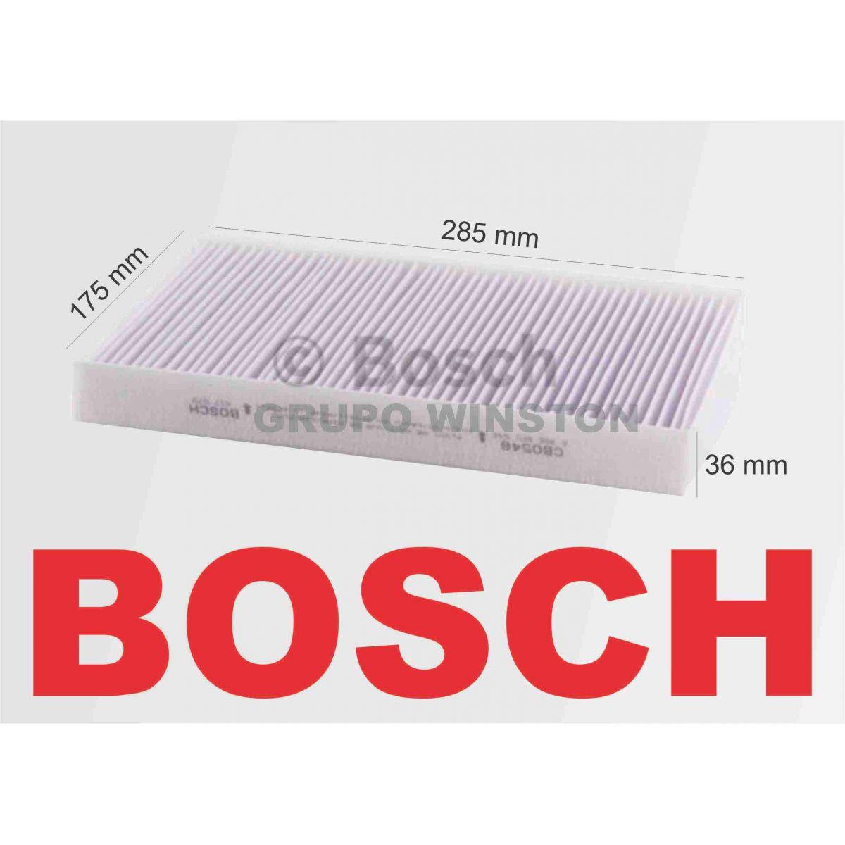 Filtro Ar Condicionado Bosch Aircross Berlingo C3 C4 3008 307 308 408 Partner RCZ