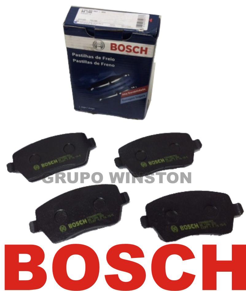 Jogo Pastilha Freio Dianteiro Bosch Renault Duster 1.6 Todas