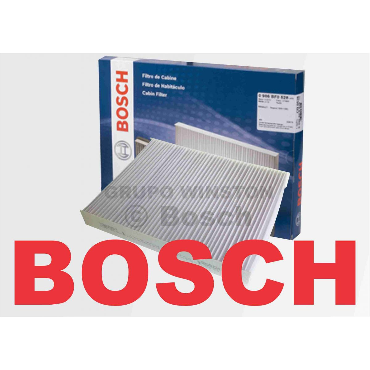 Filtro Ar Condicionado Bosch Renault Megane