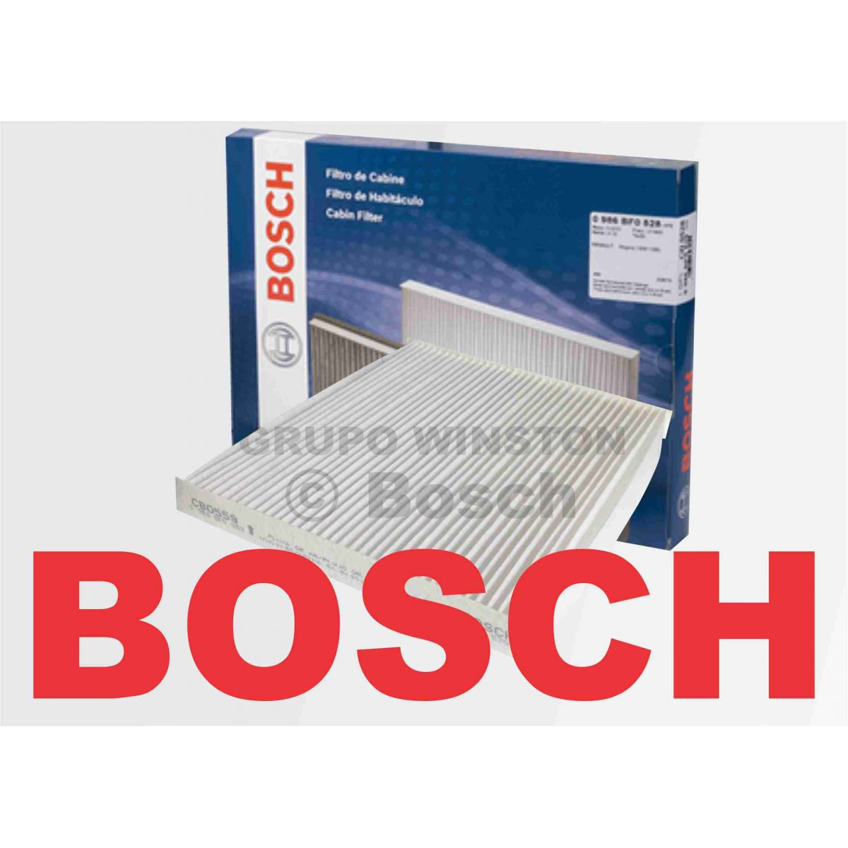 Filtro Ar Condicionado Bosch Tucson
