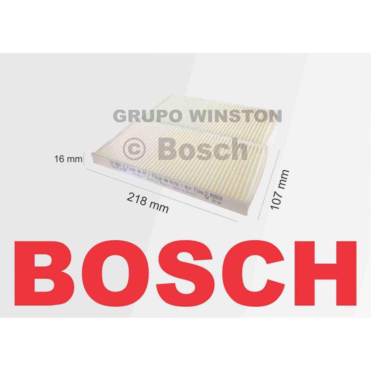 Filtro Ar Condicionado Bosch Santa Fé 2003 até 2005