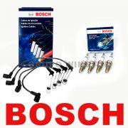 Kit Cabos E Velas Bosch Astra Vectra Zafira 2.0 Até 09 Flex F00099C014   F000KE0P43 consulte a aplicação