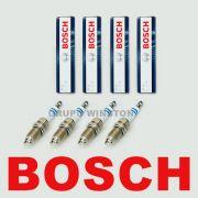 Jogo De 4 Velas Bosch 0242240675 Iridium Honda Civic Crv Fit Accord