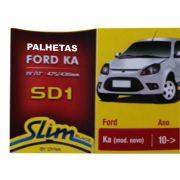 Par Palhetas Limpador Parabrisas Original DYNA SD1 Ford KA 2010 em diante