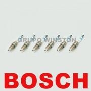 Jogo De 6 Velas Bosch F000KE0P53 0242236542 Jeep Grand Cherokee 3.7 V6