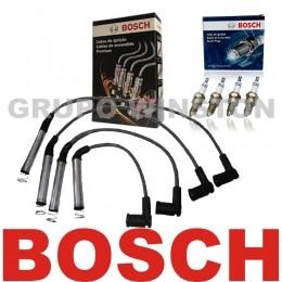 Kit Cabos E Velas Bosch Onix 1.4 Prisma 1.4 2013 Em Diante F00099C612 | F000KE0P34 consulte aplicação