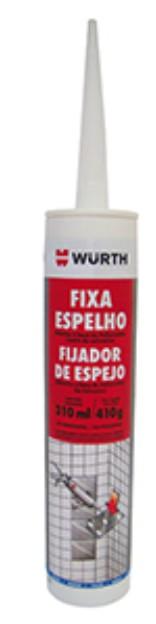 Fixa Espelho Wurth - Colar Tampa De Lavadoras Fixa Vidros