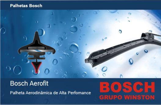 Palheta Bosch Aerofit Limpador de para brisa Bosch X5 1999 a 2006
