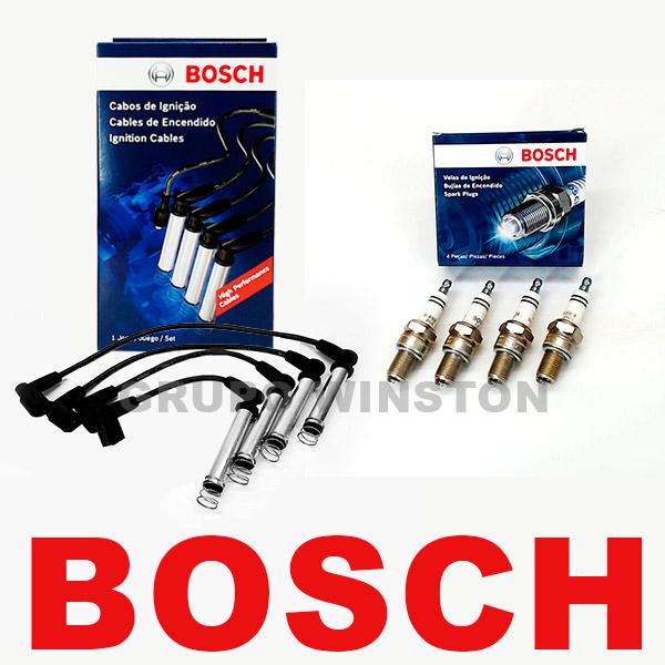 Kit Cabos E Velas Bosch Celta Corsa Classic Gasolina F00099C012 | F000KE0P27 consulte a aplicação