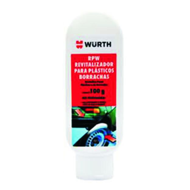 Revitalizador De Plásticos E Borrachas Rpw Wurth 100g