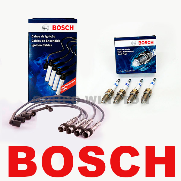 Kit Cabos E Velas Bosch Gol G3 G4 1.6 8v Flex / Gnv  F00099C127 / SP39