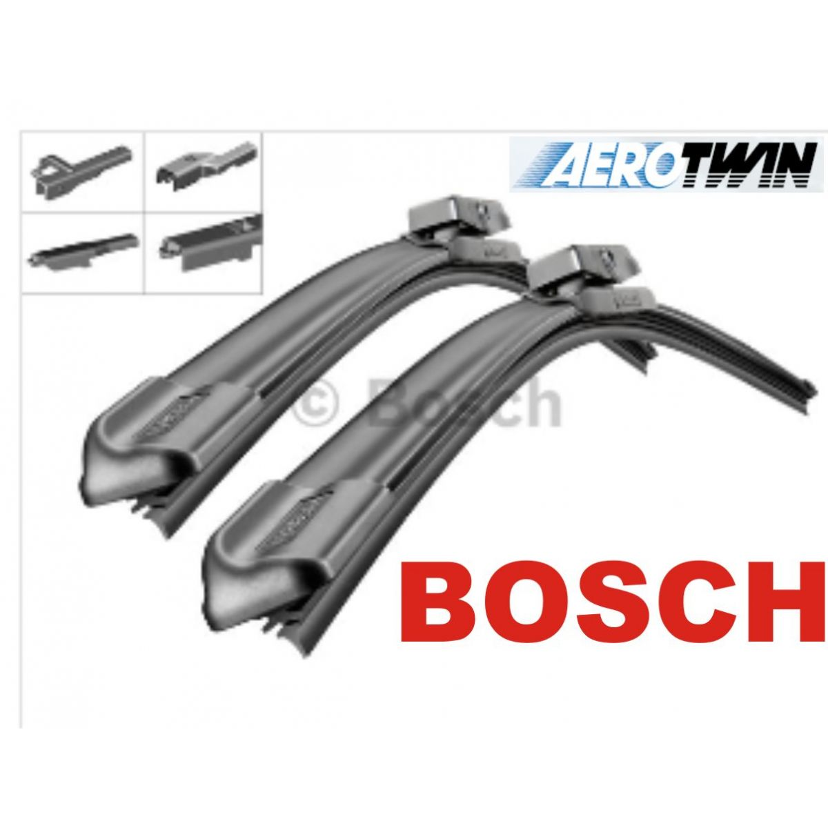Palheta Bosch Aerotwin Plus  Limpador de para brisa Bosch Audi A4 [8K2, B8] / A4 [8K5, B8] Avant / A5 [8T3] Coupe Sportback / Q5 / RS4 / RS5 / S4 / S5 / SQ5