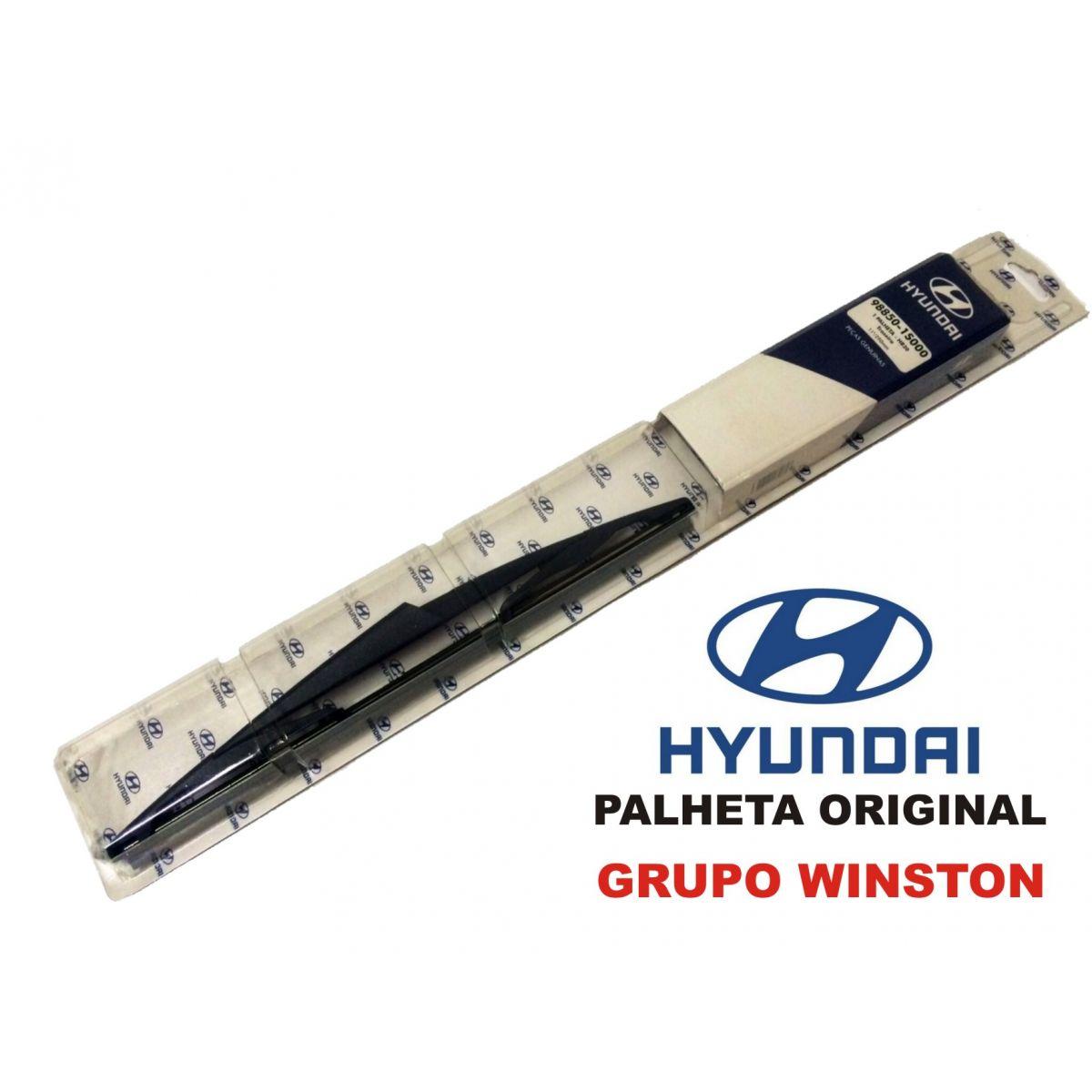 PALHETA LIMPADOR TRASEIRA HB20 Original Hyundai