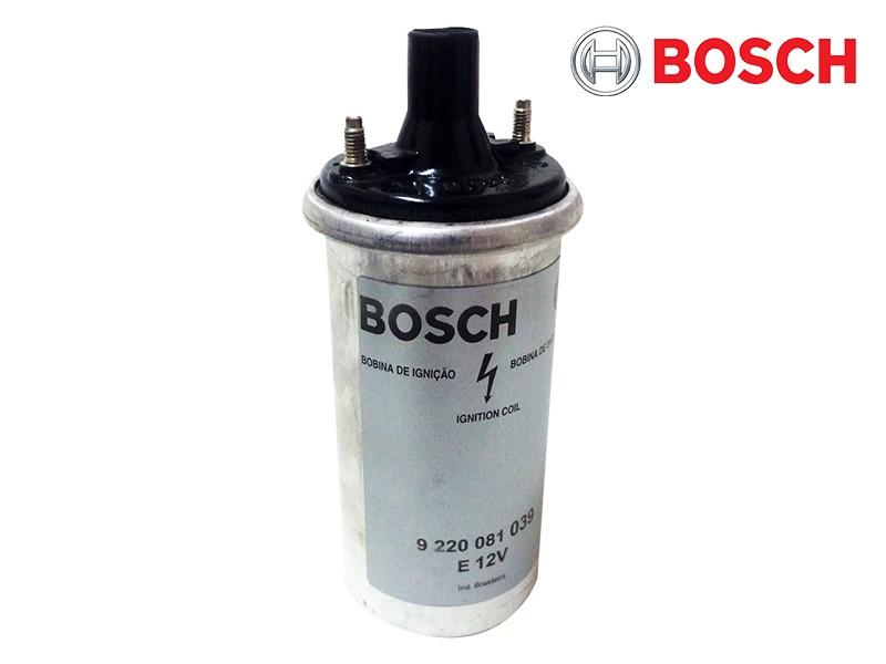 Bobina Ignição Original Bosch Veículos com Platinado VW Fusca Kombi Brasilia 9220081039