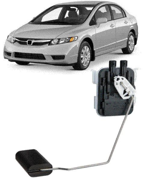 Boia Sensor Nível Honda New Civic Flex 2007 2008 2009 2010