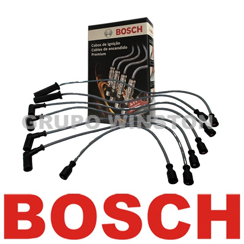 Cabos Bosch Chevrolet Blazer S10 4.3 V6 Gasolina / GNV F00099C092 consulte aplicação