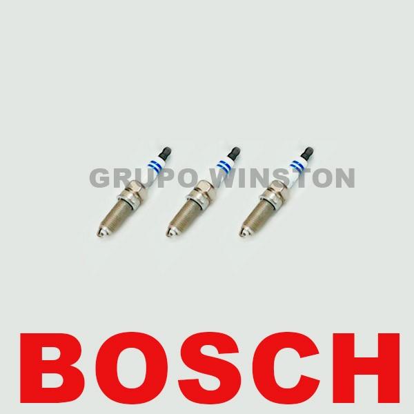 Jogo de 3 Velas Bosch 0242135545 Hyundai Hb20 Kia Picanto 1.0flex