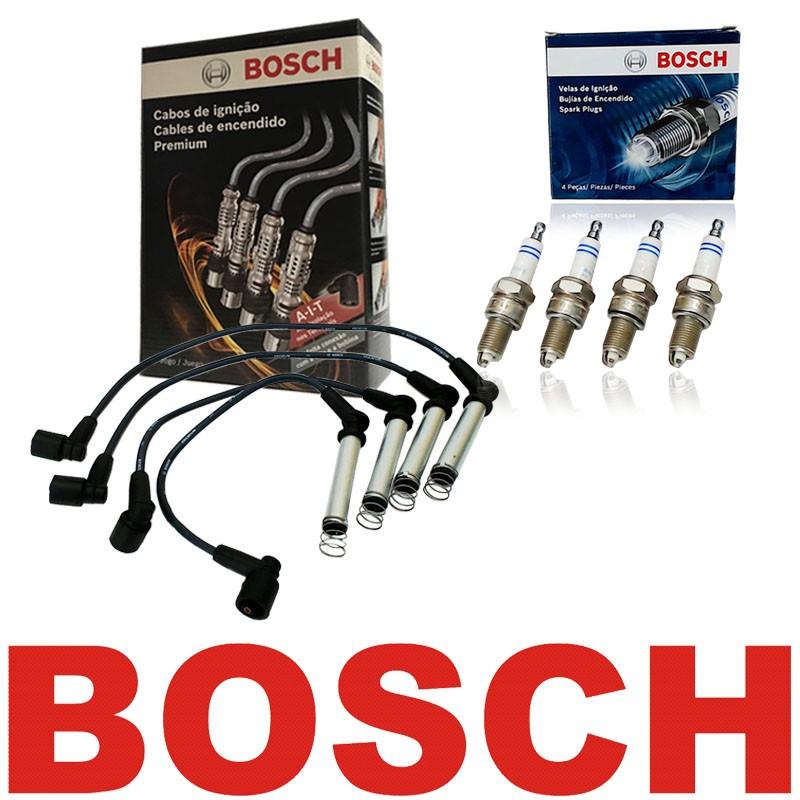 Kit Cabos E Velas Bosch Astra Vectra Zafira 2.0 Até 09 Flex F00099C014 | F000KE0P43 consulte a aplicação