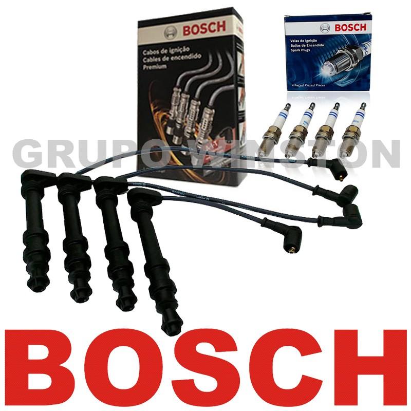 Kit Cabos E Velas Bosch Brava Doblo Marea 1.6 16v Gasolina F00099C071 | F000KE0P02 consulte a aplicação