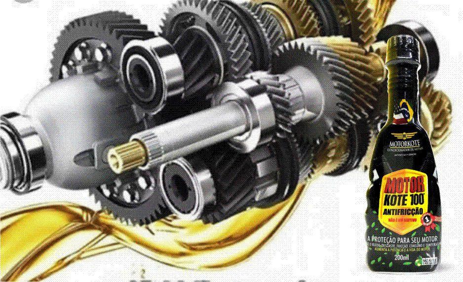 Motorkote - 100 Anti Fricção Condicionador De Metais para Motores Carros, Caminhoes Barcos Industriais