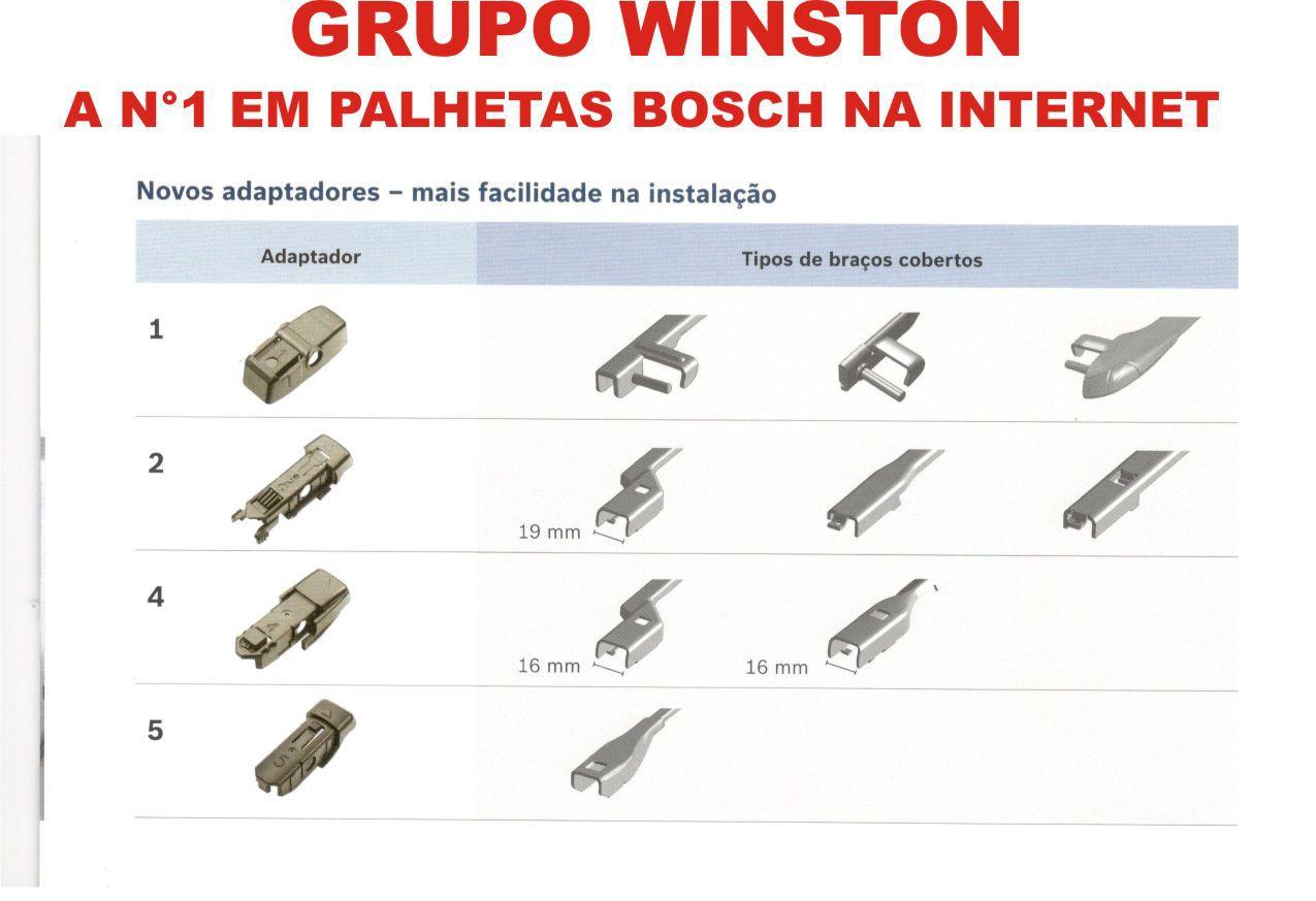 Palheta Bosch Aerotwin Plus Limpador de para brisa Bosch Mercedes-Benz Classe A [230] AR [199] CL [[215/216] CLS [219] E [210/211] S [220/221] SL AP26/AP26