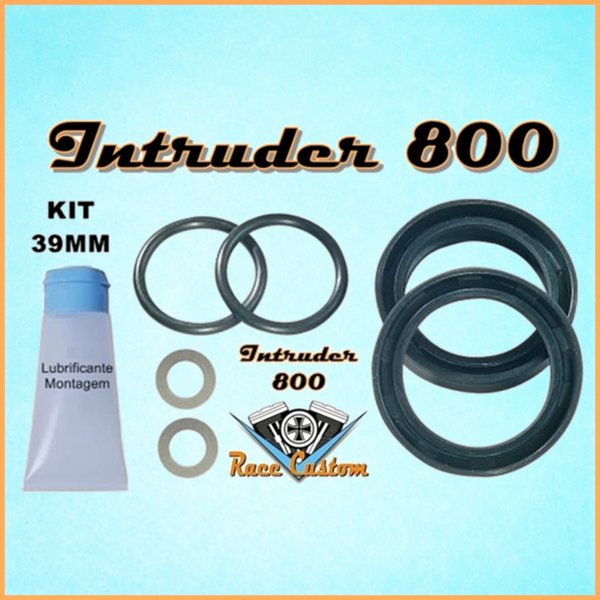 Retentor de Garfo Intruder 800  - Race Custom