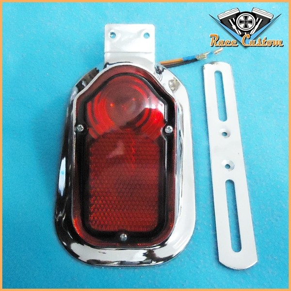 Lanterna Traseira Capela com luz de Placa  - Race Custom