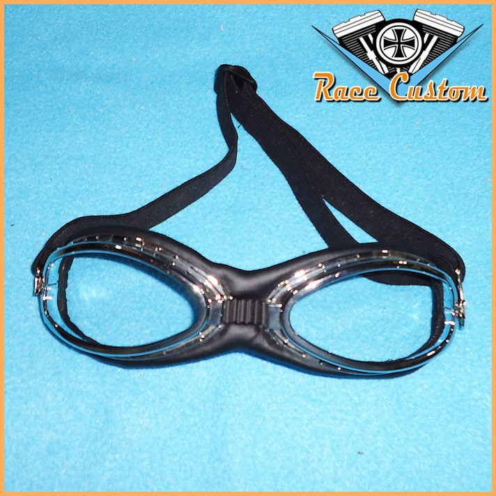 Óculos Old School Gota Aviador Lentes Cristal  - Race Custom