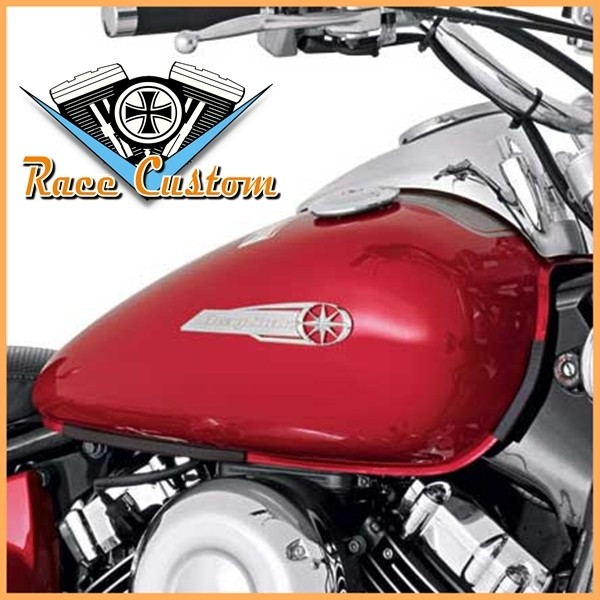 Emblema de Tanque Drag Star 650 - PAR  - Race Custom