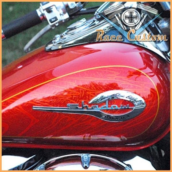 Emblema de Tanque Shadow 600, 750 e 1100 - PAR  - Race Custom