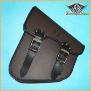 Alforge Lateral Solo Bag HD Softail, Shadow, Vulcan 900 - Marrom