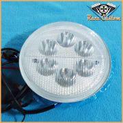 Bloco Óptico Farol LED 16 Cm - Diversas motos